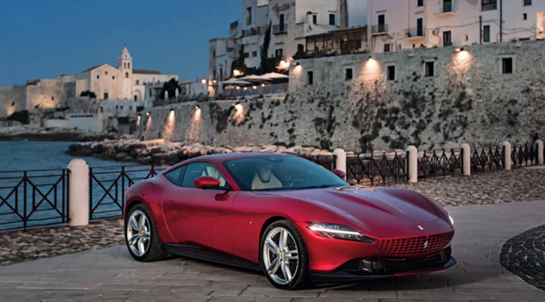 Rosso Gargano: in Ferrari sulla costa