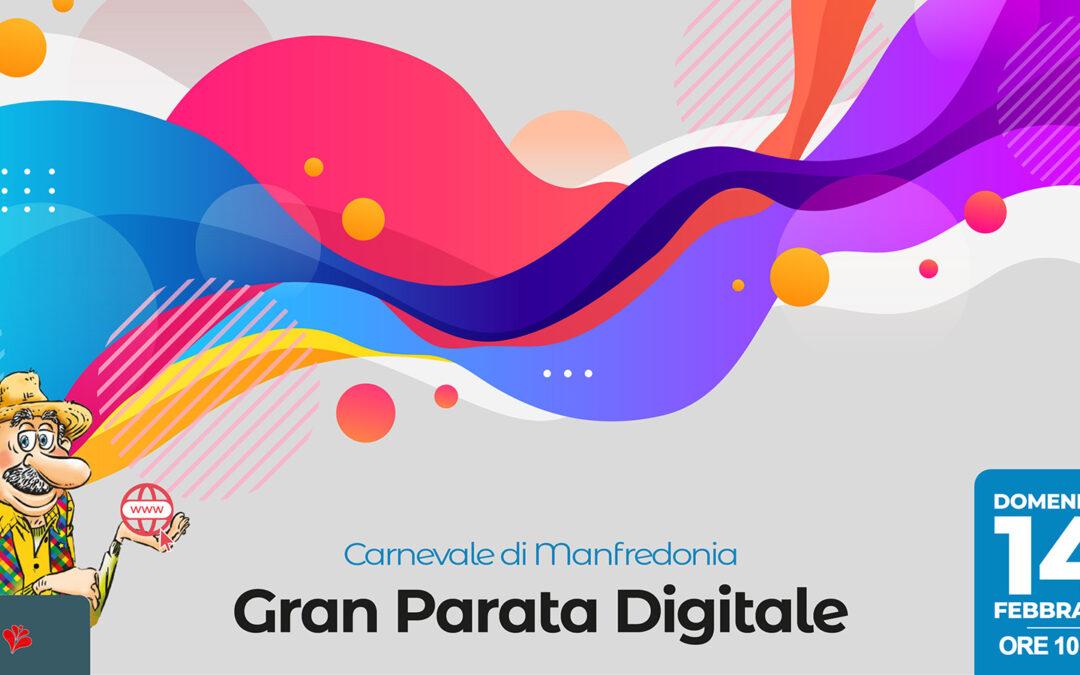 La Gran Parata digitale del Carnevale
